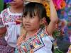 Dievčatko v tradičnom kroji, Oaxaca