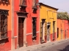 Farebné domy, San Miguel de Allende