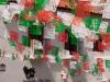 Vyzdobená ulica k výročiu nezávislosti Mexika, Taxco
