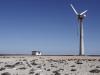 Opustená veterná turbína, Guerrero Negro, Baja California Sur